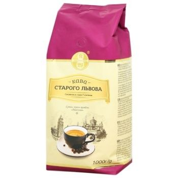 Coffee Viennese coffee in grains 1000g - buy, prices for MegaMarket - image 1