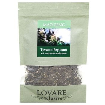 Tea Lovare green loose 35g doypack Ukraine