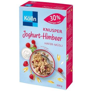 Kölln Yogurt-Raspberry Muesli 500g - buy, prices for CityMarket - photo 1