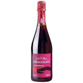 Vinicola Decordi Fragolino Strawberry Red Sweet Sparkling Wine 7,5% 0,75l - buy, prices for CityMarket - photo 1