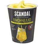 Scandal Limoncello Frozen Dessert with Milk-based Liqueur 90g