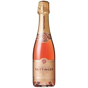 Шампанське Taittinger Prestige Rose рожеве брют 13% 0,375л - купити, ціни на CітіМаркет - фото 1