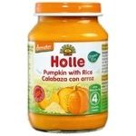 Holle Pumpkin with Rice Puree from 4 Months 190g