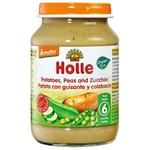 Пюре Holle Картопля з горошком і цукіні з 6міс.скл 190г