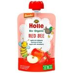 Пюре Holle Red Bee яблуко,полун.з 8міс.д/п 100г