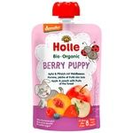 Holle Berry Puppy Apple Peach Wild Berries from 8 Months Puree 100g