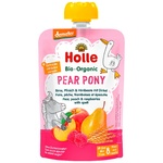 Holle Pear Pony Pear Peach Raspberry Spelled from 8 months Puree 100g