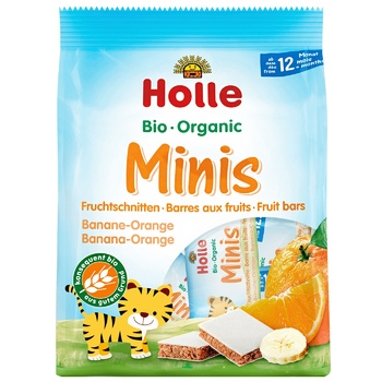 Candy bar Holle orange for children from 12 months 100g Germany - buy, prices for CityMarket - photo 1