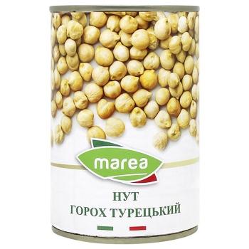 Нут Marea Горох Турецький з/б 400г - купити, ціни на CітіМаркет - фото 1