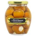 Vegetables pepper cherry tomatoes Mitcimus with feta yellow in oil 350g glass jar Ukraine