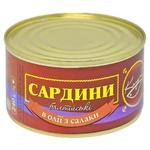Сардина Колумб Балтійська в олії №5 з/б 240г
