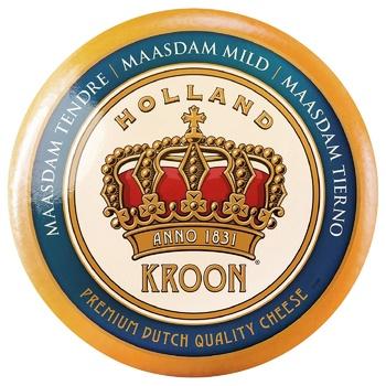 Сыр Kroon Маасдам твердый 45%
