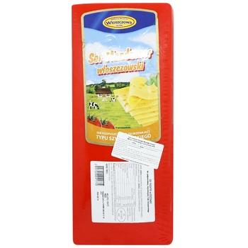Wloszczowa Mazdamer Hard Cheese 45% - buy, prices for CityMarket - photo 1