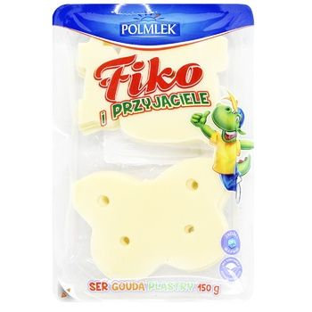 Cheese gouda Polmlek hard 150g - buy, prices for CityMarket - photo 1