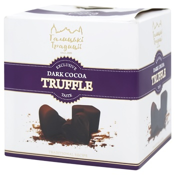 Candy Galician traditions Truffle with cocoa 200g - buy, prices for CityMarket - photo 2