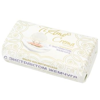 Ti Amo Crema Soap with Pearl Extract 140g