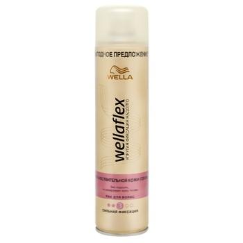 Лак Wellaflex для волос сильная фиксация 400мл
