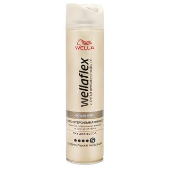 WELLAFLEX CLASSIC SUPERSILE FIXATION Hairspray Super strong fixation 250ml
