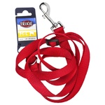 Повідок Trixie Classic нейлон червоний M-L 1,2-1,8м*20мм - купить, цены на СитиМаркет - фото 1