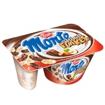 Zott Monte Choco Flakes Milk Dessert with Chocolate, Nuts and Flakes 13,9% 125g