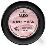 Маска Gliss Kur Performance Treat Блиск для пошкодженого фарбованого волосся 4в1 400мл - купити, ціни на Novus - фото 2