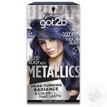 Крем-фарба для волосся got2b Metallics M67 Синій Меркурій 142,5мл