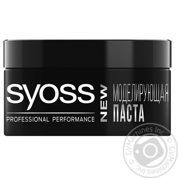 Паста для волос Syoss моделирующая с естественным блеском 100мл