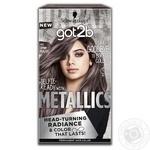 Крем-краска для волос got2b Metallics M83 Урбанистический Металлик 142,5мл