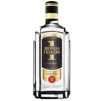 Persha Gildiya Povazhna Povazhna Vodka 40% 0,7l - buy, prices for CityMarket - photo 1