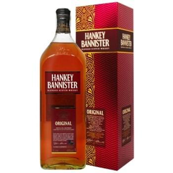Виски Hankey Bannister 40% 1л