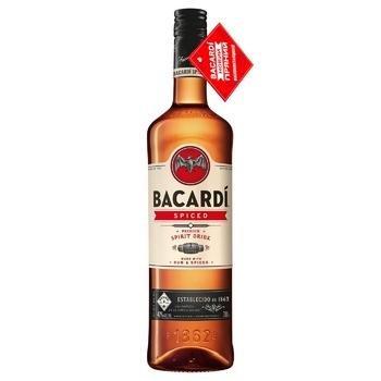 Ром Bacardi Spiced 40% 1л