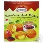 Сырные шарики Coburger Камамбер с клюквой 45% 250г