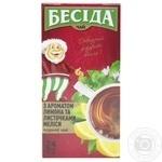 Besida Black Tea with Lemon Flavor and Melissa Leaves 24x1.5g