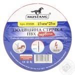 Изоляционная лента Mustang Красная 15мм 25м