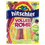 Жевательные конфеты Hitschler Фруктовые трубочки 125г