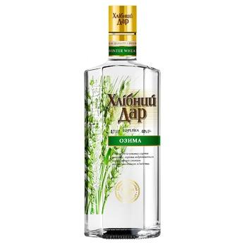 Khlibniy Dar Winter Premium Vodka 40% 0,7l