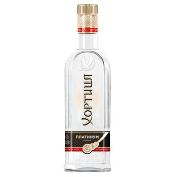 Vodka Khortytsia Platinum 40% 0,5l