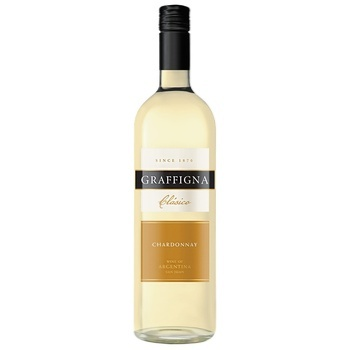 Graffigna Clasico Chardonnay White Dry Wine 10,5-15% 0,75l - buy, prices for CityMarket - photo 1