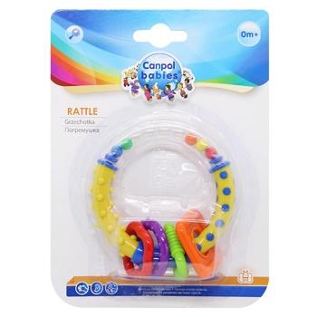 Брязкальце Canpol Babies кольорові кільця