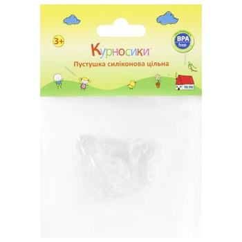 Soother Kurnosiki Bear silicone for children - buy, prices for CityMarket - photo 1