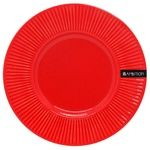 Ambition Dajar Plate Ceramic Red 22,5cm