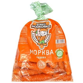 Vovka-Morkovka Chudova Carrot 1kg - buy, prices for CityMarket - photo 1