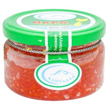 Kamchadal salmon red grain-growing caviar 185g - buy, prices for MegaMarket - photo 1