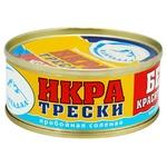 Kamchadal canned atlantic cod сaviar 80g