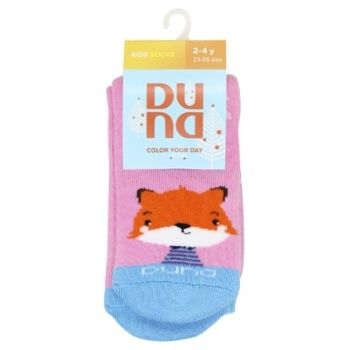 Duna 4039 Winter Pink Baby's Socks Size 16-18 - buy, prices for CityMarket - photo 1