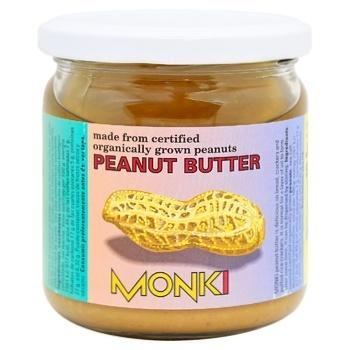 Паста Monki арахісова скл 330г - купити, ціни на CітіМаркет - фото 1