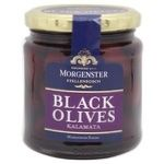 Оливки Morgenster Каламата в розсолі скл 290г