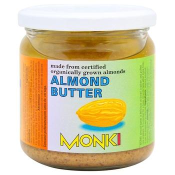 Паста Monki зі смаж.мигдалю скл 330г - купити, ціни на CітіМаркет - фото 1