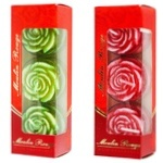Moulin Rouge Rose Candle 3*4cm 3pcs in assortment