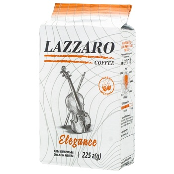 Lazzaro Elegance Ground Coffee Vacuum Packing 225g